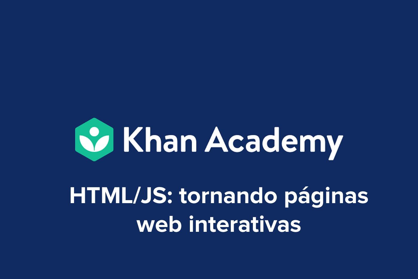 HTML/JS: tornando páginas web interativas